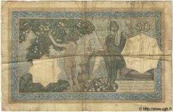 50 Francs TUNISIE  1929 P.09 pr.TB