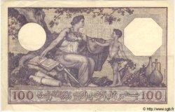 100 Francs TUNISIE  1933 P.10b pr.SUP