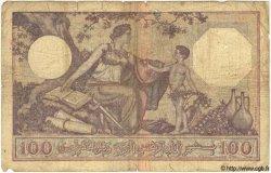 100 Francs TUNISIE  1936 P.10c AB