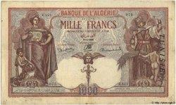 1000 Francs TUNISIE  1938 P.11b pr.TTB