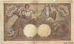 1000 Francs TUNISIE  1938 P.11b TB+