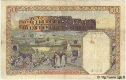50 Francs TUNISIE  1939 P.12a TB