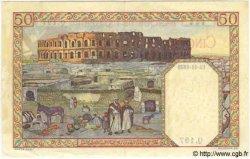 50 Francs TUNISIE  1939 P.12a pr.SUP