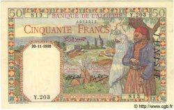 50 Francs TUNISIE  1939 P.12a SPL