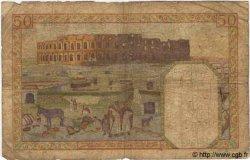 50 Francs TUNISIE  1942 P.12a AB