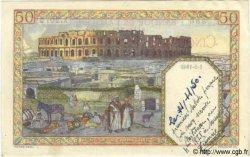 50 Francs TUNISIE  1945 P.12b TTB