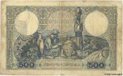 500 Francs TUNISIE  1939 P.14 B+