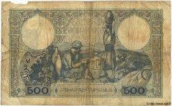 500 Francs TUNISIE  1939 P.14 B