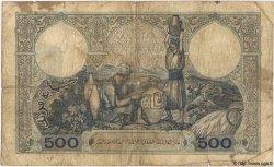 500 Francs TUNISIE  1942 P.14 B+