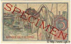 5 Francs TUNISIE  1944 P.15s pr.NEUF
