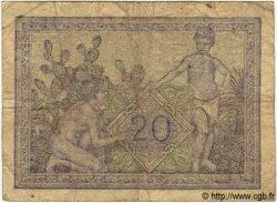 20 Francs TUNISIE  1944 P.17 B à TB