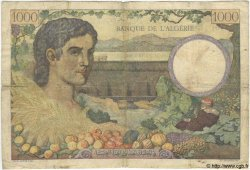 1000 Francs TUNISIE  1941 P.20a B+