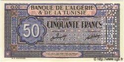 50 Francs TUNISIE  1949 P.23s NEUF