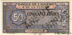 50 Francs TUNISIE  1949 P.23s pr.NEUF