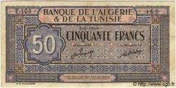 50 Francs TUNISIE  1949 P.23 TB+