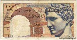 100 Francs TUNISIE  1946 P.24 TB+