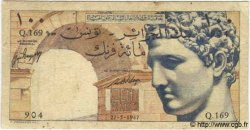 100 Francs TUNISIE  1947 P.24 B+