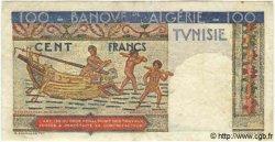 100 Francs TUNISIE  1947 P.24 TB