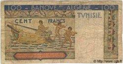 100 Francs TUNISIE  1948 P.24 B+