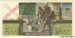 500 Francs TUNISIE  1947 P.25s SPL