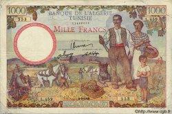 1000 Francs TUNISIE  1946 P.26 TB+