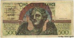 500 Francs TUNISIE  1950 P.28 B+ à TB