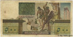 500 Francs TUNISIE  1952 P.28 pr.TB