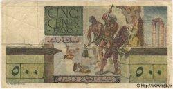 500 Francs TUNISIE  1952 P.28 TB+