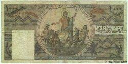 1000 Francs TUNISIE  1950 P.29a B+ à TB