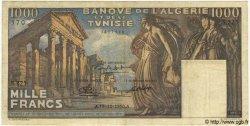 1000 Francs TUNISIE  1950 P.29a TB+