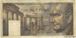 5000 Francs TUNISIE  1950 P.30 pr.TB