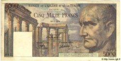 5000 Francs TUNISIE  1950 P.30 TTB