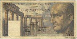 5000 Francs TUNISIE  1950 P.30 TB+