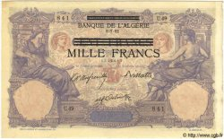 1000 Francs TUNISIE  1892 P.31 TTB