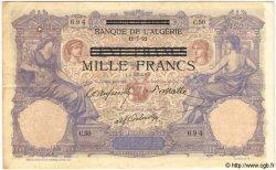 1000 Francs TUNISIE  1892 P.31 TTB+