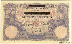 1000 Francs TUNISIE  1892 P.31 SPL