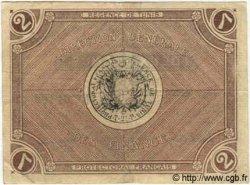 2 Francs TUNISIE  1918 P.34 pr.TTB