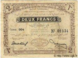 2 Francs TUNISIE  1918 P.34 TB
