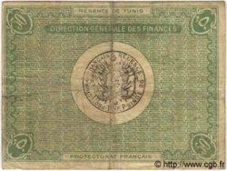 50 Centimes TUNISIE  1918 P.35 TB+