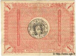 1 Franc TUNISIE  1918 P.36b TTB+
