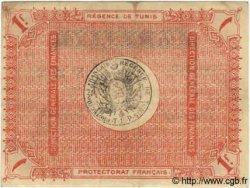 1 Franc TUNISIE  1918 P.36e TTB