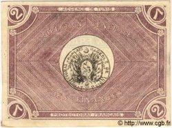 2 Francs TUNISIE  1918 P.37a SPL