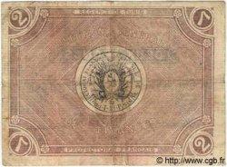 2 Francs TUNISIE  1918 P.37b B+
