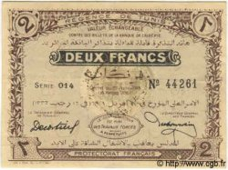 2 Francs TUNISIE  1918 P.37c SUP