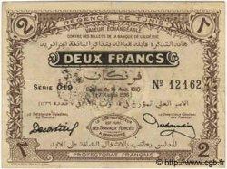 2 Francs TUNISIE  1918 P.38 TTB