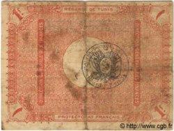 1 Franc TUNISIE  1918 P.40 B à TB