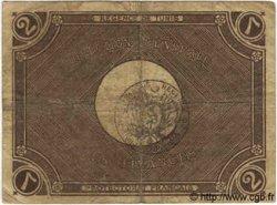 2 Francs TUNISIE  1918 P.41 TB