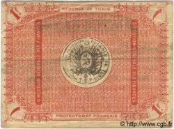 1 Franc TUNISIE  1918 P.43 TTB