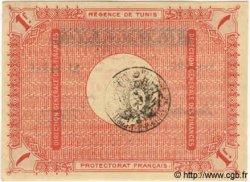 1 Franc TUNISIE  1918 P.43 NEUF