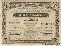 2 Francs TUNISIE  1918 P.44 TTB+